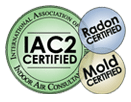 IAC2 Certified in Radon and Mold
